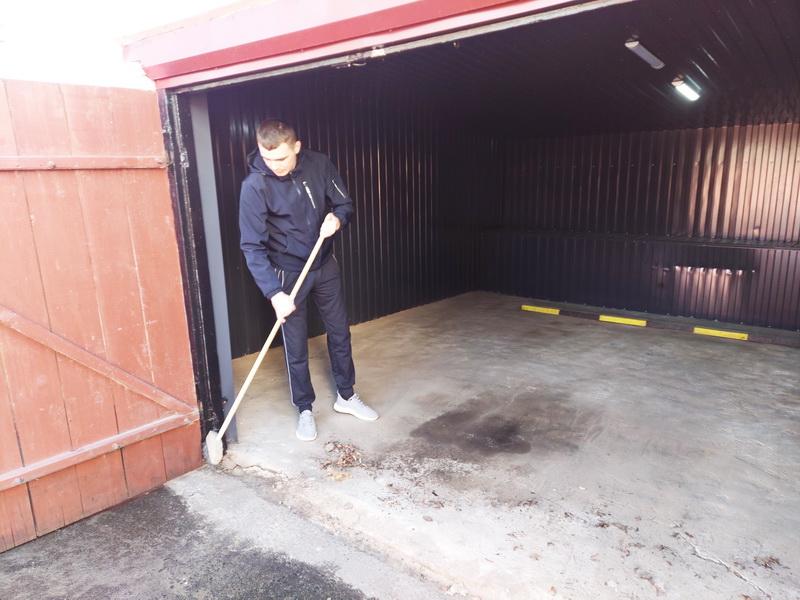 уборка гаражей