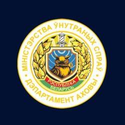 логотип синий фон