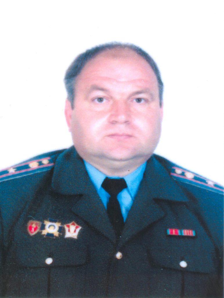 Литвинчик Юрий Михайлович майор