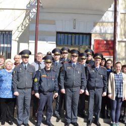Коллектив Ошмянского отдела охраны