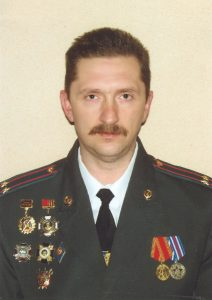 подполковник милиции Телегин Сергей Александрович