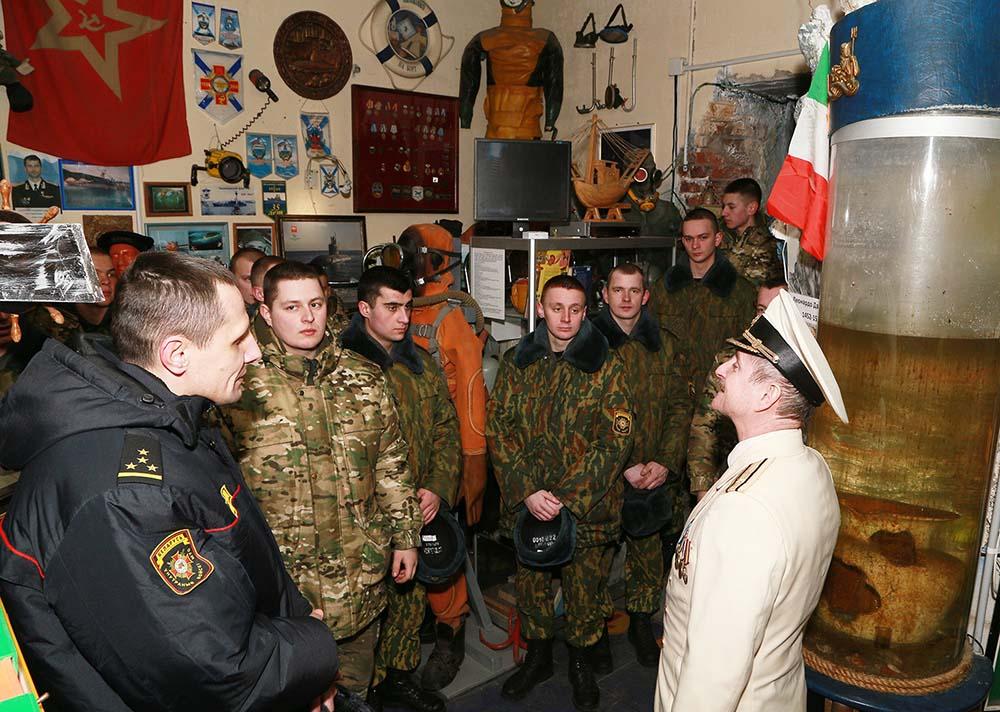 С военнослужащими ВВ МВД 4 марта