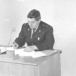 Блашенков В.А. на рабочем месте 1980-е годы