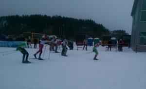 Лыжи 4