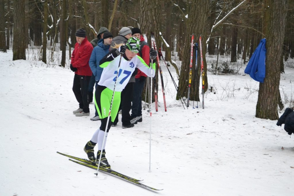 Лыжи 008