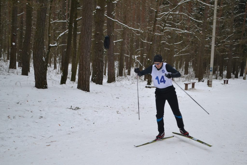 Лыжи 028