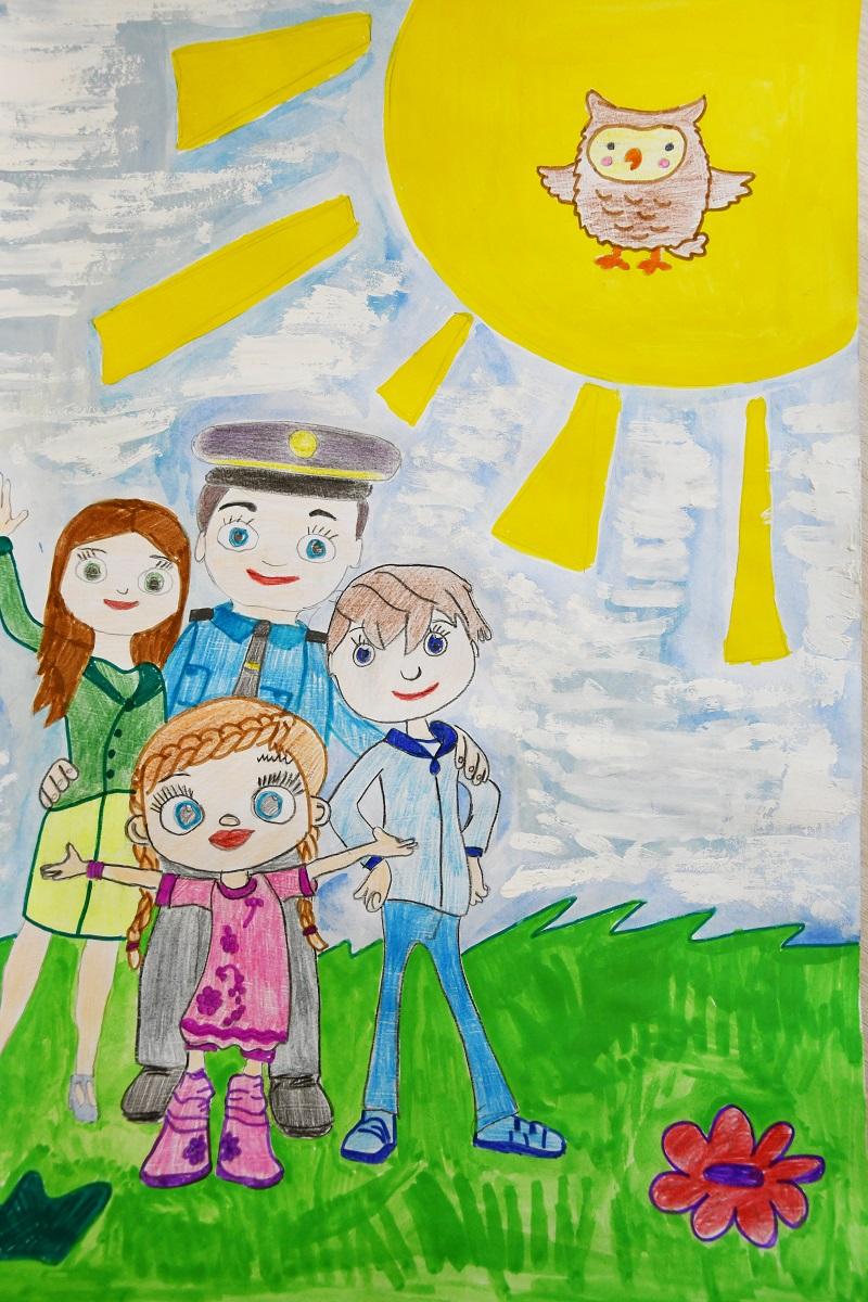 4. Рисунок участника конкурса